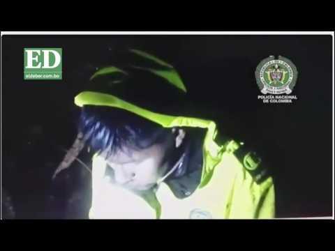 El desgarrador y dramático rescate de uno de los tripulantes de avión LaMia