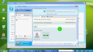 Jak założyć konto na skype'a