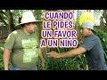 Agapito Diaz - Cuando le pides un favor a un niño