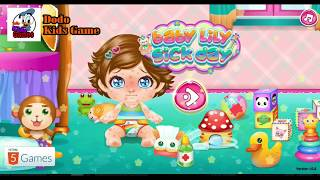 Baby Lily Sick Day Games | Cute Baby