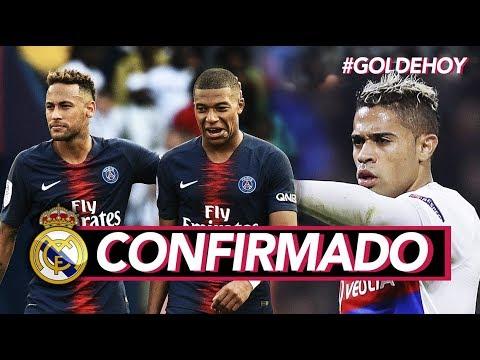 "REAL MADRID TIENE NUEVO FICHAJE I ""Mbappé y Neymar no van al Madrid"" thumbnail"
