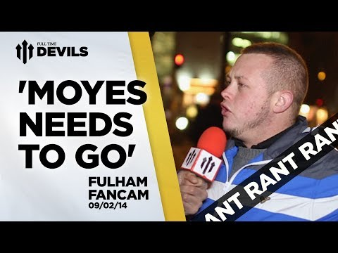 'Moyes Needs To Go' | Manchester United 2-2 Fulham | REVIEW
