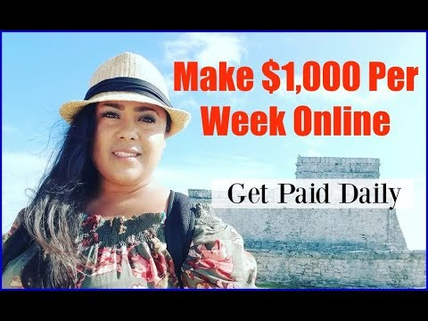 How To Make Money On The Internet Working From Home - Make Money Online Fast 2017 & 2018