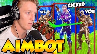"TFUE Reacts to ""Getting Kicked from FaZe Clan for Aimbot"""