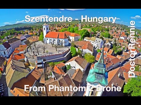 Szentendre, Hungary in UHD (4K) Drone Travel Video