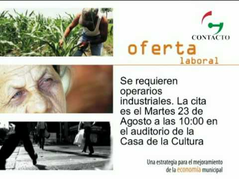 SIBATE   OFERTA LABORAL     CTv 29   2011