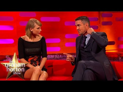 Cricketer KP Talks 'Chest Matches' with Confused Taylor Swift - The Graham Norton Show