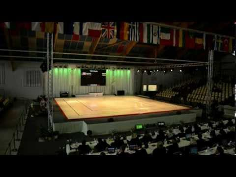 2013 Aerobic European Championships, Arques (fra) - Qualifications Women, Trios video