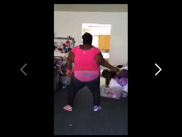Black Girl Shaking Ass Booty Panties