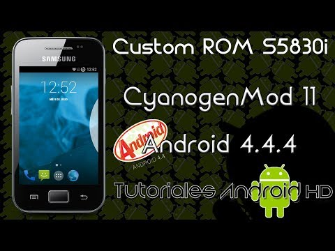 CyanogenMod 11 Nightly Android 4.4.4 OFICIAL Custom ROM (Inestable) [Galaxy Ace s5830i-m-c-39i]