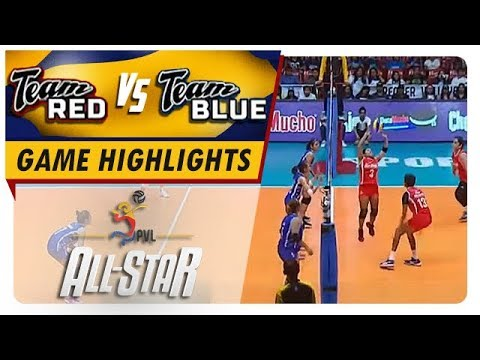 PVL All-Star Game: Team Red vs Team Blue  Game Highlights  February 2 2019