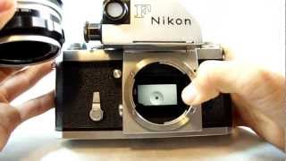 Nikon F 35mm Film SLR Camera w/ Nikon Nikkor-H 50mm F2 Lens Review