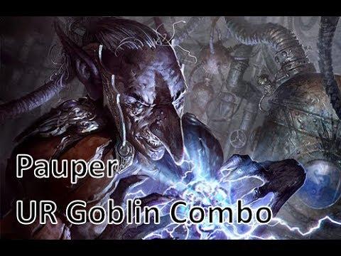 MTG Pauper UR Goblin Combo vs MBC