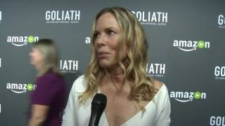 Maria Bello at Goliath Premiere