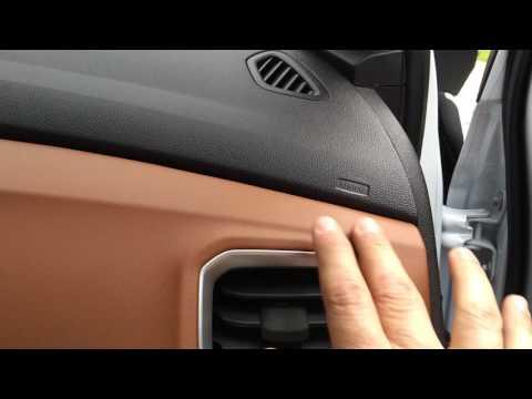 Troca do filtro de cabine do ar condicionado do Ônix Activ.