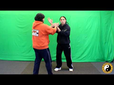 Wing Chun Chi Sao Lesson, Sensitivity, Training Demonstration Chi Sao Sparring Image 1