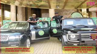 TOP 20 CARS OF P SQUARE IN 2016 (OFFICIAL VIDEO) with their price in Naira & Dollar