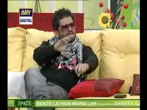 SALEEM JAVED IN GOOD MORNING PAKISTAN ARY DIGITAL  MARCH 19TH...