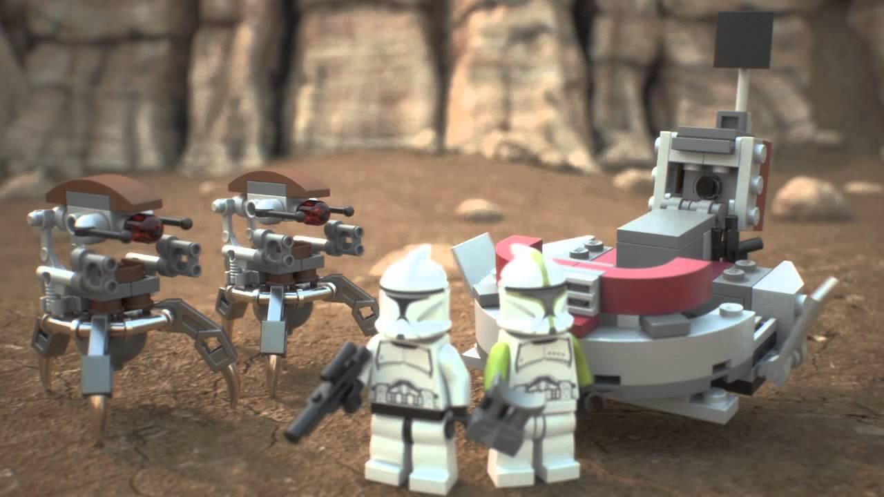 Lego Star Wars Clones vs Droidekas Lego Star Wars | 75000 | Clone