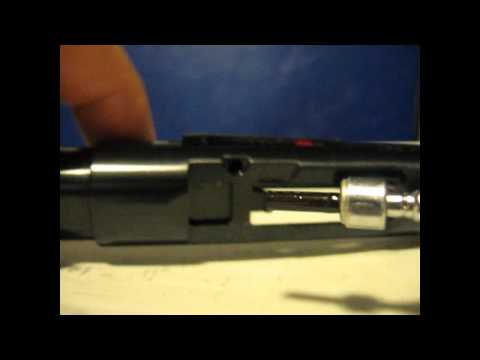 Ruger MKIII MK3 pistol Loaded Chamber Indicator LCI disassembly removal .22