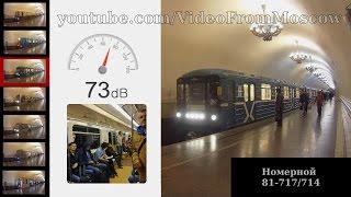 Шум поездов метро