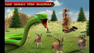 Anaconda Simulator 2018 - Animal Hunting Games (by High Flame Studios) - Android Gameplay #2