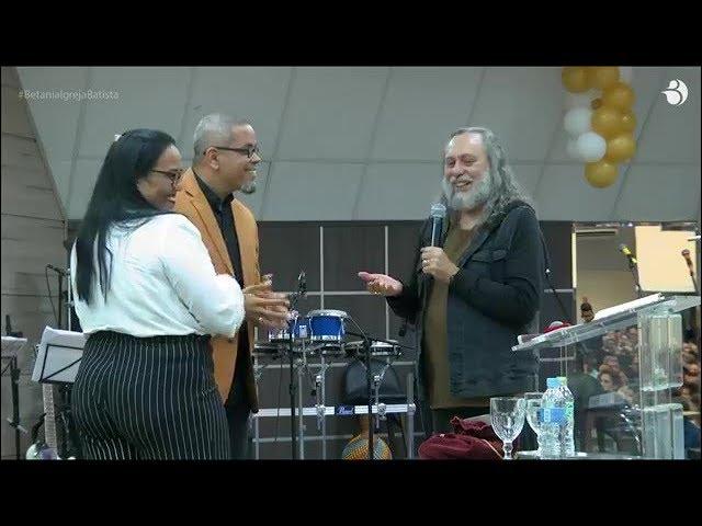 Caio Fábio na Igreja Batista Betânia - Bodas de Casamento - Neil e Andrea Barreto