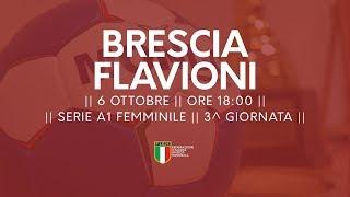 Serie A1F [3^ giornata]: Brescia - Flavioni 21-13