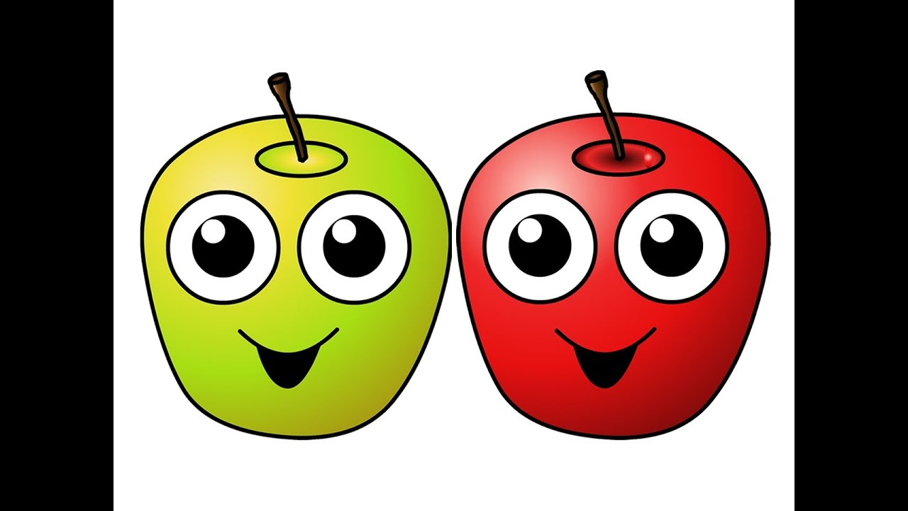 Quot Apples Are Yummy Quot Learn Fruits Amp Vegetables Kids Song
