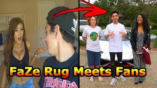 Faze Rug Flies Fans To Meet Him After A Year Of Waiting And They Love Him