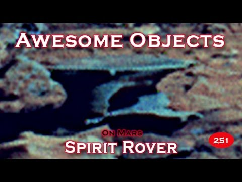 NASA Spirit Rover Panorama Shows Amazing Objects All Over!