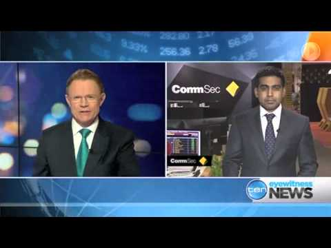 5th May 2014, Ch. 10 Late Night News CommSec Segment: Rates ahead