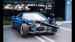 REBUILDING A WRECKED FERRARI 488 FROM COPART PART 2