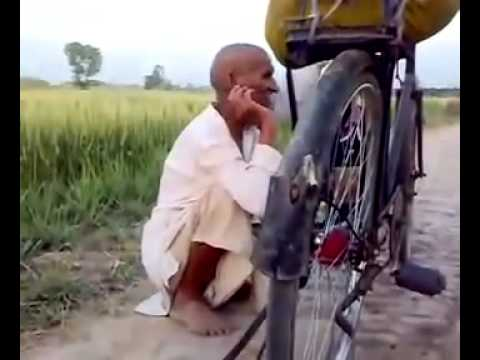 Pakistani Old Man Singing Song video