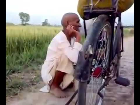Pakistani Old Man Singing Song video