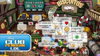 Club Penguin Encuentro con Rockhopper 2012