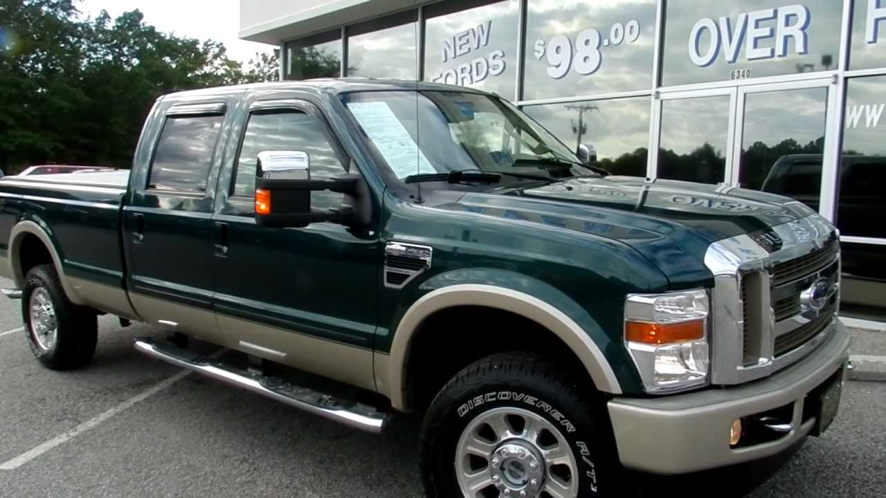 Ford F250 8 Foot Bed For Sale >> 2008 FORD F-350 KING RANCH CREW 4X4 Charleston SC - YouTube