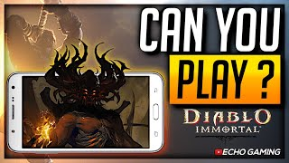 Will Diablo Immortal Play on My Phone