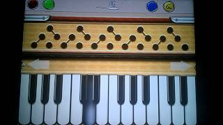Sheila ki jawani song on Harmonium Plus HD iPhone App.