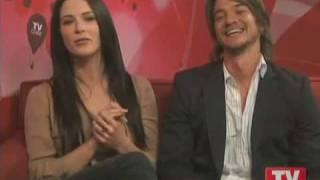 Craig Horner and Bridget Regan on TVGuide Part 2