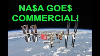NASA Opens the ISS For Tourists / Commercial Activity