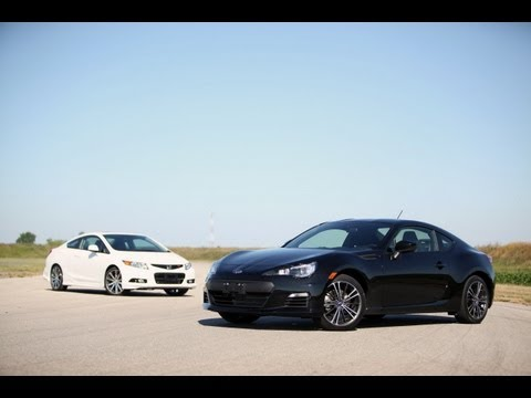 2013 Subaru BRZ vs. 2012 Honda Civic Si HFP
