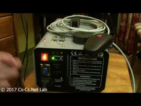 Cs-Cs: Дымовая установка Involight FM900, переделанная на DMX-протокол