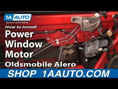 How to replace power window motor 1999 pontiac grand prix for 2002 oldsmobile alero window regulator