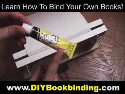 Basic DIY Book Binding Demonstration