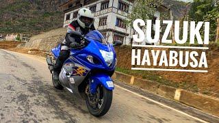 Suzuki Hayabusa in Bhutan - First time