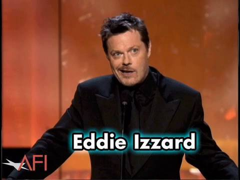 Eddie Izzard Salutes Sean Connery at AFI Life Achievement Award