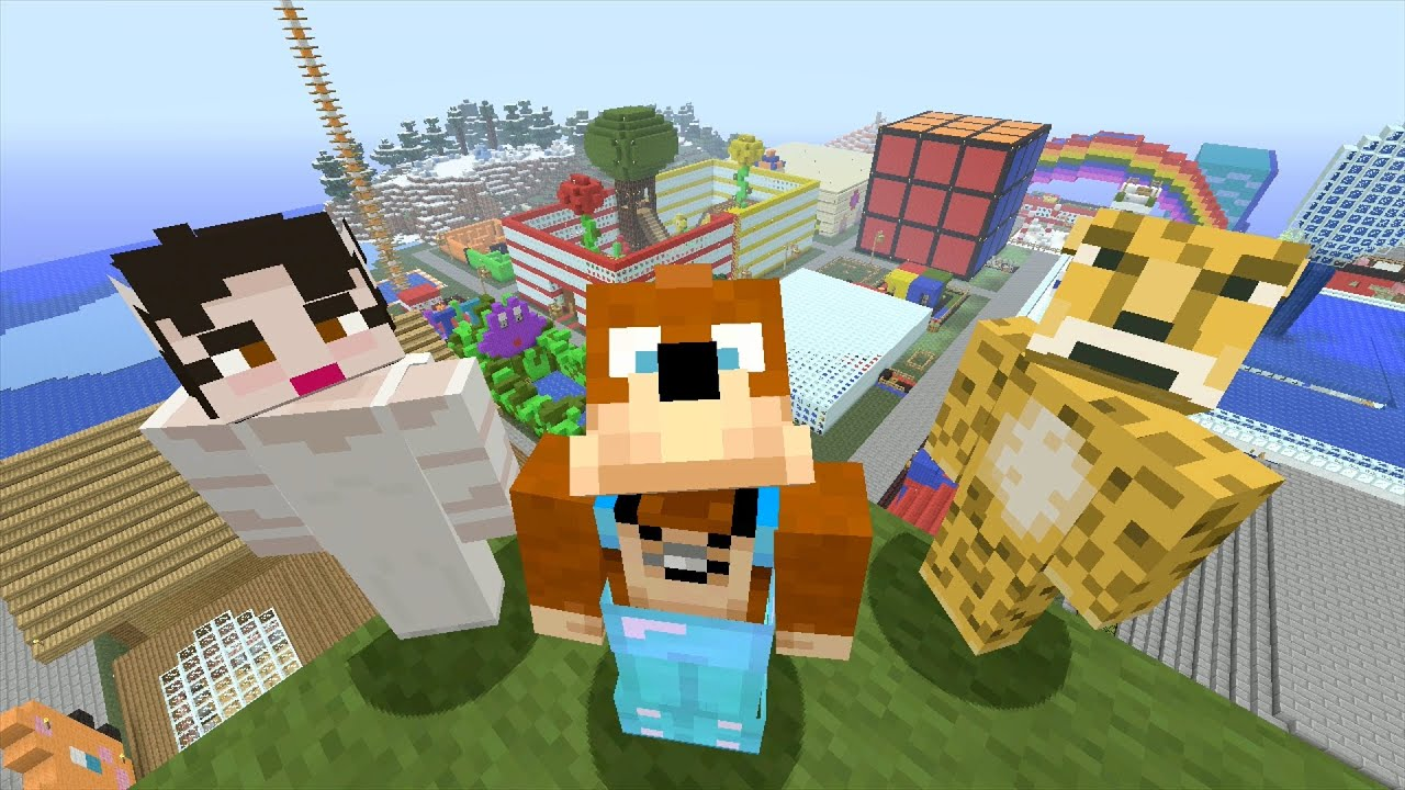 World Building Games Like Minecraft