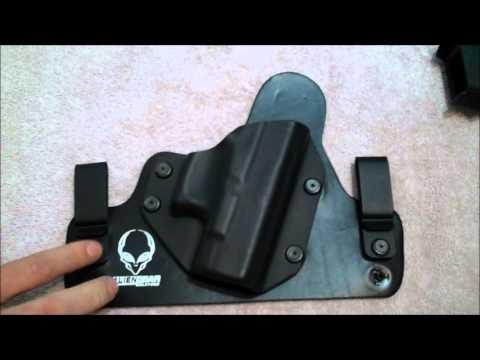 Alien Gear IWB Hybrid Holster - Glock 26