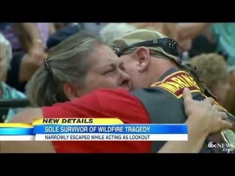 Sole 'Hot Shot' Survivor Warned Fellow Firefighters